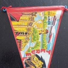 Banderines de colección: ANTIGUO BANDERIN DE TERUEL - MAUSOLEO DE LOS AMANTES, ESCALINATA - AÑOS 60 - 27 CM - EN BUEN ESTADO. Lote 287838448