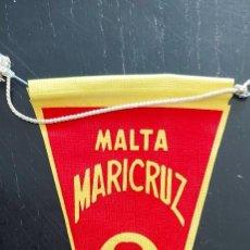 Banderines de colección: ANTIGUO Y BONITO BANDERIN DE MALTA MARICRUZ - EN PLASTICO O LONA - EN MUY BUEN ESTADO - AÑOS 60 - 1. Lote 288026533