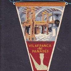 Banderines de colección: BANDERIN MUSEO DEL VINO DE VILAFRANCA DEL PANEDES. Lote 289859318