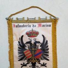 Banderines de colección: BANDERIN INFANTERÍA DE MARINA, TERCIO DE ARMADA ( 31.50 CM X 24.50 CM ). Lote 293836703