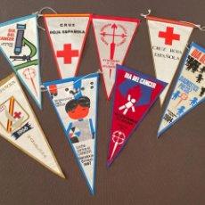 Banderines de colección: LOTE VARIADO DE BANDERINES. Lote 295041818