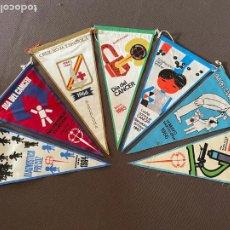 Banderines de colección: LOTE VARIADO DE BANDERINES. Lote 295042053
