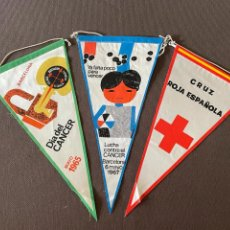 Banderines de colección: LOTE VARIADO DE BANDERINES. Lote 295042408