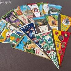Banderines de colección: LOTE VARIADO DE BANDERINES. Lote 295042593