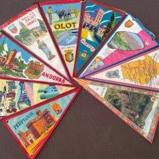 Banderines de colección: LOTE VARIADO DE BANDERINES. Lote 295042868