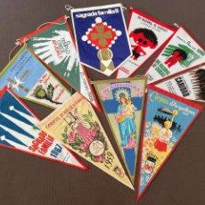 Banderines de colección: LOTE VARIADO DE BANDERINES. Lote 295042928