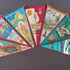 Banderines de colección: LOTE VARIADO DE BANDERINES. Lote 295043138