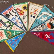 Banderines de colección: LOTE VARIADO DE BANDERINES. Lote 295044328