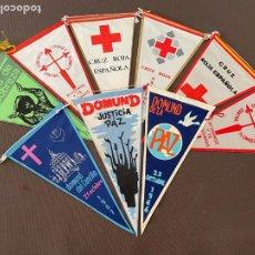 Banderines de colección: LOTE VARIADO DE BANDERINES. Lote 295044373