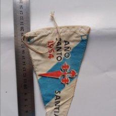 Galhardetes de coleção: BANDERIN - SANTIAGO - AÑO SANTO 1954. Lote 295274438