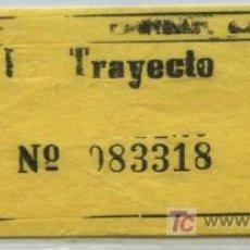 Coleccionismo Billetes de transporte: BILLETE DE BUS DE MALAGA // AUTOMOVILES PORTILLO, S.A. // MALAGA - TORREMOLINOS. Lote 19184649