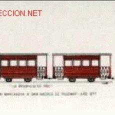 Coleccionismo Billetes de transporte: BILLETES DE TRANVÍAS DE BARCELONA . Lote 21650720