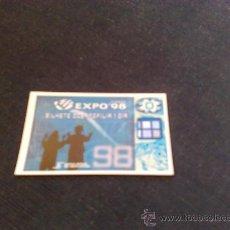 Coleccionismo Billetes de transporte: ENTRADA EXPO LISBOA 1998. Lote 28214326