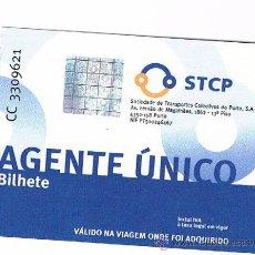 Coleccionismo Billetes de transporte: BILLETE TRANSPORTE DE OPORTO. Lote 41446039