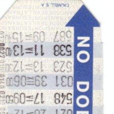 Coleccionismo Billetes de transporte: BONOBÚS AÑOS 80 DE SEVILLA. Lote 37226090