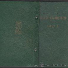 Coleccionismo Billetes de transporte: C5-BILLETE KILOMÉTRICO - TARIFA 9 - 2ª CLASE - SERIE 3 - DE 5000 KILOMETROS - AÑO 1966. Lote 36518833