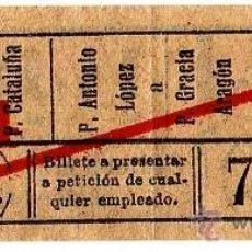 Coleccionismo Billetes de transporte: BILLETE COMPAÑÍA GENERAL DE AUTOBUSES (CGA) \ VARIOS TRAYECTOS \ 20 CTS \ CAPICUA. Lote 41353112