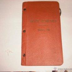 Coleccionismo Billetes de transporte: BILLETE KILOMETRICO TARIFA 109 , 3ª CLASE SERIE 2 1930, INCLUYE FOTOS. Lote 43591113
