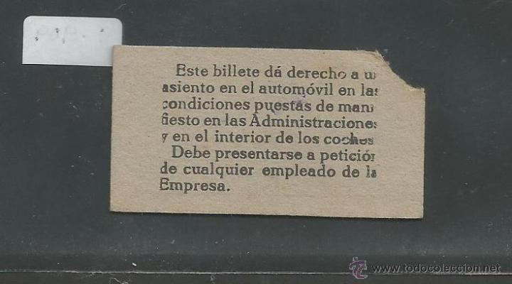 Coleccionismo Billetes de transporte: BILLETE GUERRA CIVIL AÑO 1938 - CNT UGT - MATARO BARCELONA - (V-916) - Foto 2 - 44039584