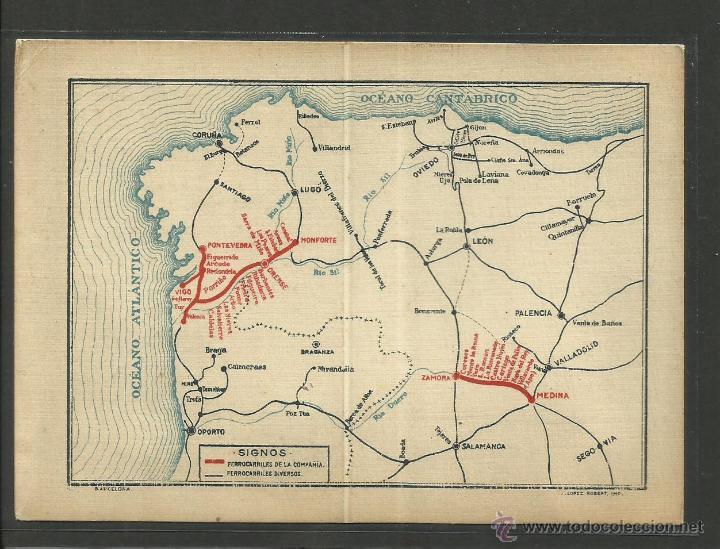 Coleccionismo Billetes de transporte: BILLETE FERROCARRIL - BILLETE DE LIBRE CIRCULACION AÑO 1925 - ORENSE A VIGO - 1ª CLASE - (26545) - Foto 2 - 46098069