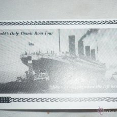 Coleccionismo Billetes de transporte: TICKET IRLANDÉS ENTRADA TITANIC. Lote 46463102