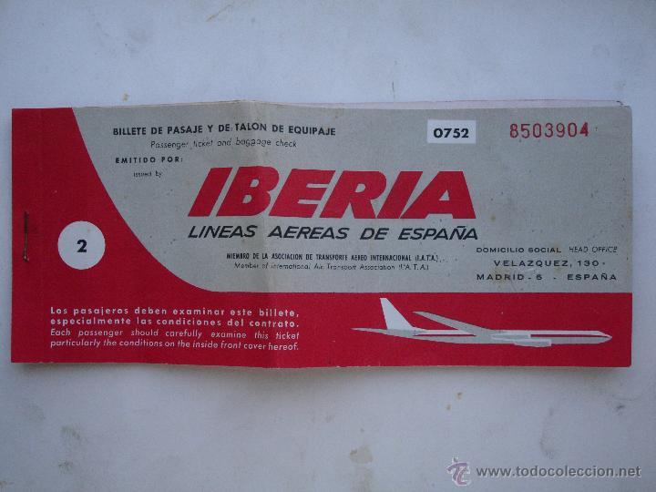 Billete avion iberia 1967 sevilla barcelona comprar for Billetes de avion baratos barcelona paris