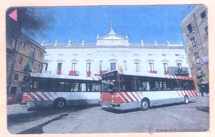 BONOBUS TARRAGONA AJUNTAMENT PLAÇA DE LA FONT. BILLETE TRANSPORTE URBANO. BONO BUS. AUTOBUS.10VIAJES (Coleccionismo - Billetes de Transporte)