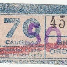 Coleccionismo Billetes de transporte: BILLETES TRANSPORTE BARCELONA. Lote 47795066