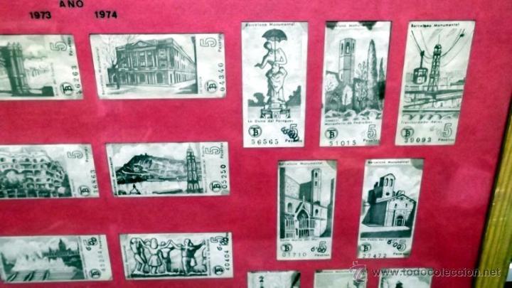 Coleccionismo Billetes de transporte: COLECCION BILLETES 24 CAPICUAS AÑO 1973 74 BARCELONA .- TRANVIA AUTOBUS METRO FERROCARRIL TREN - Foto 2 - 48228617