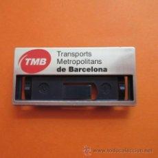 Coleccionismo Billetes de transporte: EMBLEMA EMPRESA AUTOBUSES Y METRO DE BARCELONA PARA COLOCAR FUNCION EMPLEADO O NOMBRE. Lote 49141927