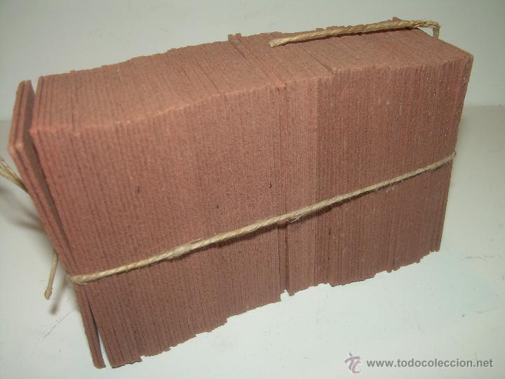 Coleccionismo Billetes de transporte: PAQUETE PRECINTADO CON PLOMO DE 100 BILLETES DE OLESA A NAVAS..........DEL Nº. 1.000 AL 1.099 - Foto 4 - 50647658