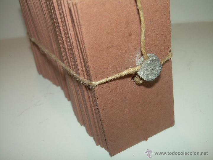 Coleccionismo Billetes de transporte: PAQUETE PRECINTADO CON PLOMO DE 100 BILLETES DE OLESA A NAVAS..........DEL Nº. 1.000 AL 1.099 - Foto 5 - 50647658