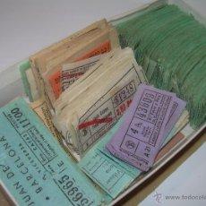Coleccionismo Billetes de transporte: GRAN LOTE DE BILLETES DE TRANSPORTE.. Lote 50749956