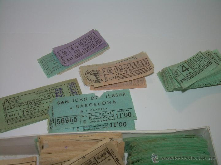 Coleccionismo Billetes de transporte: GRAN LOTE DE BILLETES DE TRANSPORTE. - Foto 2 - 50749956