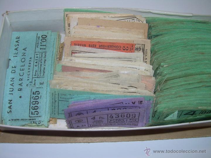 Coleccionismo Billetes de transporte: GRAN LOTE DE BILLETES DE TRANSPORTE. - Foto 4 - 50749956