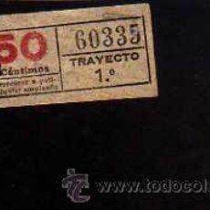 Coleccionismo Billetes de transporte: BILLETE TRANVIA. BARCELONA.. Lote 51361986