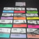 Coleccionismo Billetes de transporte: LOTE 12 TARJETAS AÑO 1994 COMPLETO + TARJETA IDENTIFICACION - T- MES , CADA MES UN COLOR DE TARJETA. Lote 52348926
