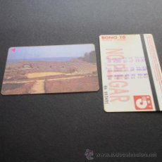 Coleccionismo Billetes de transporte: TARJETA BONO BUS AUTOBUSES DE TARRAGONA EMT . Lote 53517704