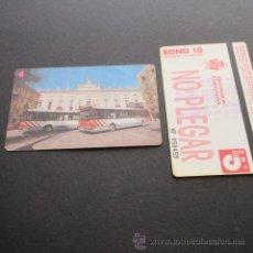 Coleccionismo Billetes de transporte: TARJETA BONO BUS AUTOBUSES DE TARRAGONA EMT . Lote 53517787