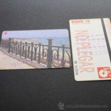 Coleccionismo Billetes de transporte: TARJETA BONO BUS AUTOBUSES DE TARRAGONA EMT . Lote 53517801