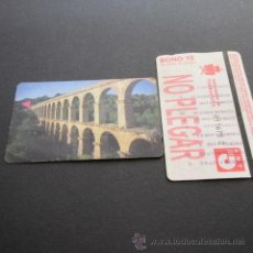 Coleccionismo Billetes de transporte: TARJETA BONO BUS 10 VIAJES AUTOBUSES DE TARRAGONA EMT . Lote 53517806
