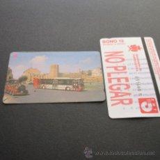 Coleccionismo Billetes de transporte: TARJETA BONO BUS AUTOBUSES DE TARRAGONA EMT. Lote 179524830
