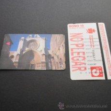 Coleccionismo Billetes de transporte: TARJETA BONO BUS 10 VIAJES AUTOBUSES DE TARRAGONA EMT . Lote 53517816