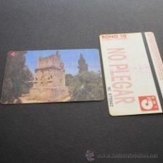 Coleccionismo Billetes de transporte: TARJETA BONO BUS AUTOBUSES DE TARRAGONA EMT . Lote 53517822
