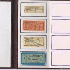 Coleccionismo Billetes de transporte: BILLETES DE AUTOBÚS Y TRANVÍA CAPICÚA. BILLETES. NORMAL BILLETES DE AUTOBÚS Y TRANVÍA CAPICÚA/ CONJ. Lote 56543743