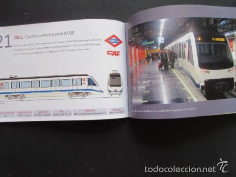 Coleccionismo Billetes de transporte: LIBRO 25 IMAGENES EN LA HISTORIA DEL TRANSPORTE PUBLICO MADRID, METRO AUTOBUS FERROCARRIL - Foto 2 - 57808073