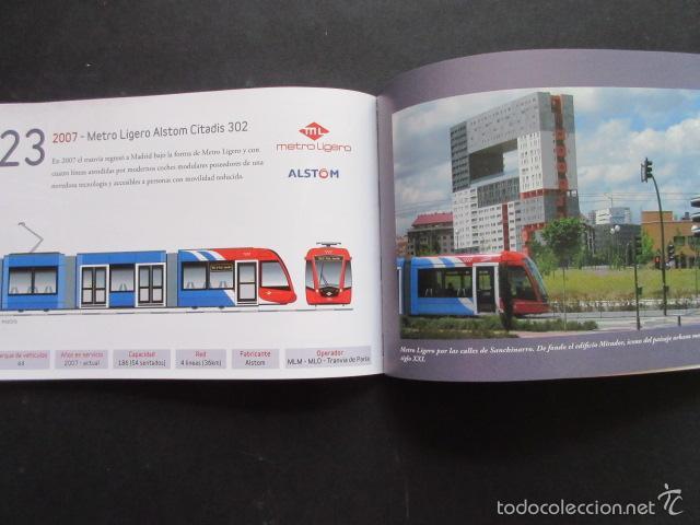 Coleccionismo Billetes de transporte: LIBRO 25 IMAGENES EN LA HISTORIA DEL TRANSPORTE PUBLICO MADRID, METRO AUTOBUS FERROCARRIL - Foto 3 - 57808073