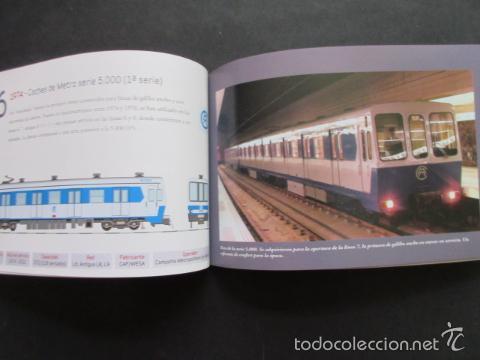 Coleccionismo Billetes de transporte: LIBRO 25 IMAGENES EN LA HISTORIA DEL TRANSPORTE PUBLICO MADRID, METRO AUTOBUS FERROCARRIL - Foto 4 - 57808073