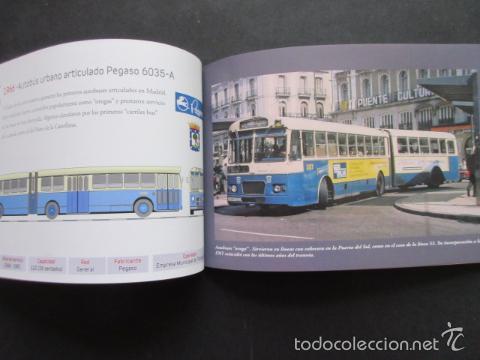 Coleccionismo Billetes de transporte: LIBRO 25 IMAGENES EN LA HISTORIA DEL TRANSPORTE PUBLICO MADRID, METRO AUTOBUS FERROCARRIL - Foto 5 - 57808073