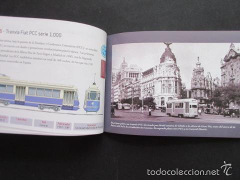 Coleccionismo Billetes de transporte: LIBRO 25 IMAGENES EN LA HISTORIA DEL TRANSPORTE PUBLICO MADRID, METRO AUTOBUS FERROCARRIL - Foto 6 - 57808073
